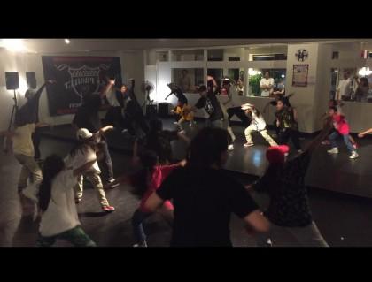 TokyoBeatSurfワークショップ   宮崎市キッズヒップホップ専門ダンススタジオSSプロジェクト