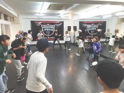 宮崎佐土原清武キッズヒップホップ専門ダンススクールスタジオSSプロジェクト