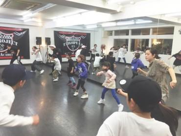 宮崎佐土原清武キッズヒップホップ専門ダンススタジオSSプロジェクト