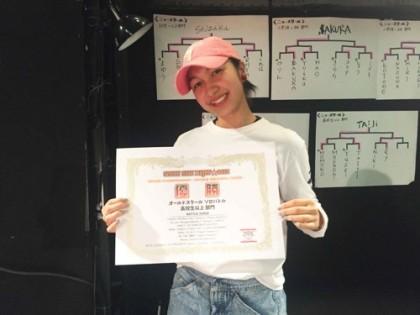 NIKI SSN優勝 | 宮崎市キッズヒップホップ専門ダンススタジオSSプロジェクト