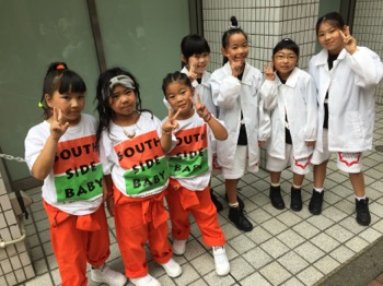 SSB&ヒップホップコーン | 宮崎市キッズヒップホップダンススタジオSSプロジェクト