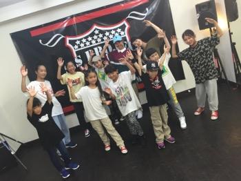 ダンスの夏期講習 | 宮崎市キッズヒップ専門ダンススタジオSSプロジェクト